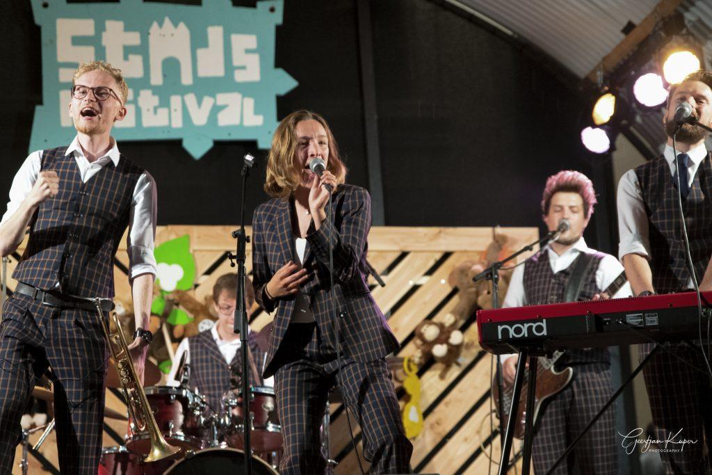Ciska live op stadsfestival Zwolle